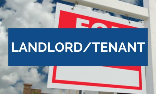 Landlord Tenant Disputes